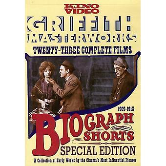 Biograph Shorts [DVD] USA import