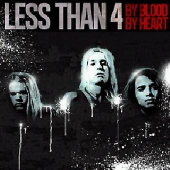 Less Than 4 - By Blood by Heart [CD] USA import