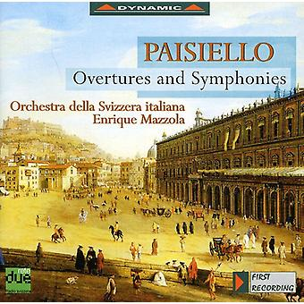 G. Paisiello - Giovanni Paisiello: Overtures and Symphonies [CD] USA import