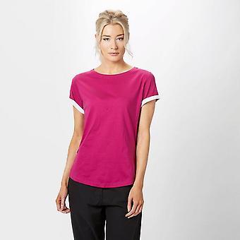 Nieuwe Peter Storm Women's Angel korte mouw T-shirt roze
