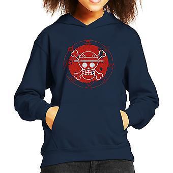One Piece Logo Kid's Hooded Sweatshirt