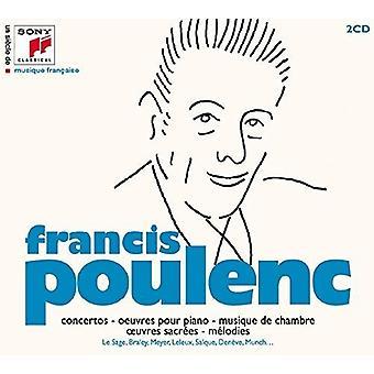 Francis Poulenc - Un Siecle De Musique Francaise [CD] USA import