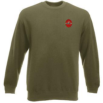 USMC Marine Recon brodert Logo - tungvekt Sweatshirt