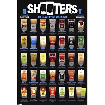 Shooters Poster Poster Print
