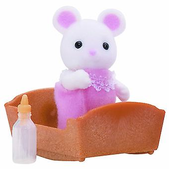 Sylvanian Families White Mouse Baby
