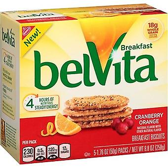 Belvita Cranberry Orange Breakfast Biscuits