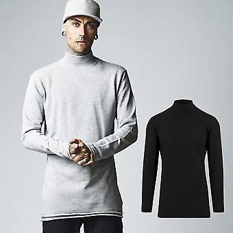 Urban classics - avoin reuna poolokaulus paita villapaita