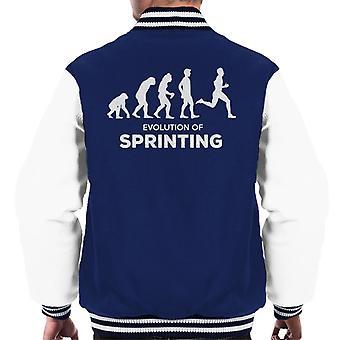 Entwicklung der Sprint Männer Varsity Jacket