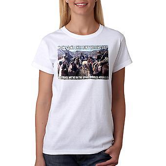 Young Guns Spirit World Women's White T-shirt
