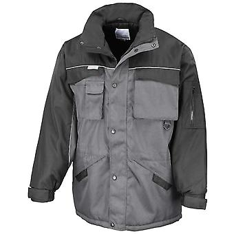 Result Mens Heavy Duty Combo Work Windproof Coat Jacket