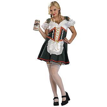 Piika biergarten tyttö Oktoberfest Saksan Baijerin naisten puku Plus