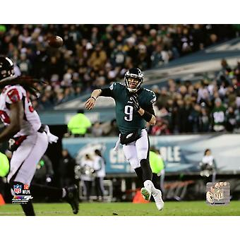 Nick Foles 2017 NFC Divisional Playoff Game Photo Print