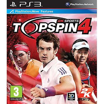 Top Spin 4 (PS3) - Nowy