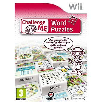 Challenge Me Word Puzzles (Wii) - Nouveau