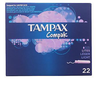 Tampax Tampax Compak Tampón Lites 22 Uds dla kobiet