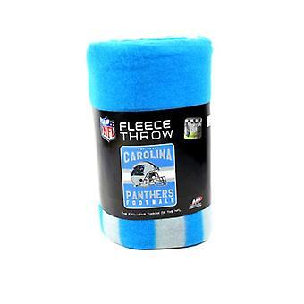 Carolina Panthers NFL Northwest Team Stripe Fleece Throw