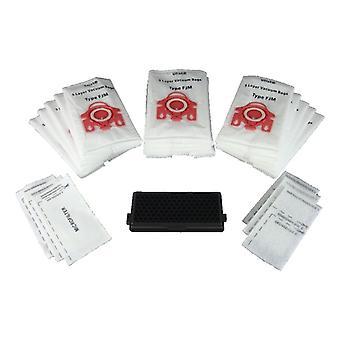 Instrukcja obsługi Miele próżni czystsze 15 x typu MULTIPACK FJM worki i filtry (czerwony kołnierz)