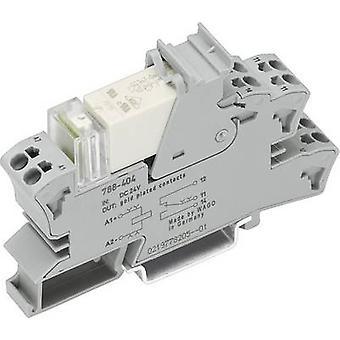 WAGO 788-608 Relaiskomponente Nennspannung: 230 V Wechselstrom (max.): 16 A 1 Wechsel über 1 Stk.