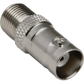 BKL elektroninen 0401157 BNC adapteri BNC Socket-F pisto rasia 1 kpl/s