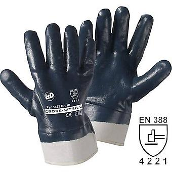 L+D Cross-Nitril 1452 Nitrile butadiene rubber Protective glove Size (gloves): 10, XL EN 388 CAT II 1 Pair