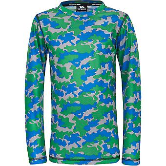 Trespass Boys Oaf Long Sleeve Wicking Quick Dry Base Layer Top