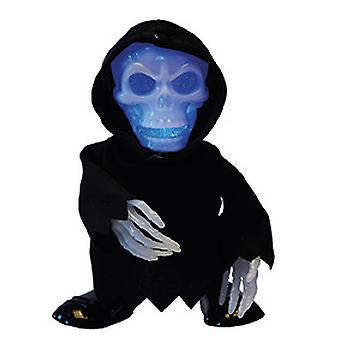 Godfather death decoration doll Halloween grim reaper animated with light and sound