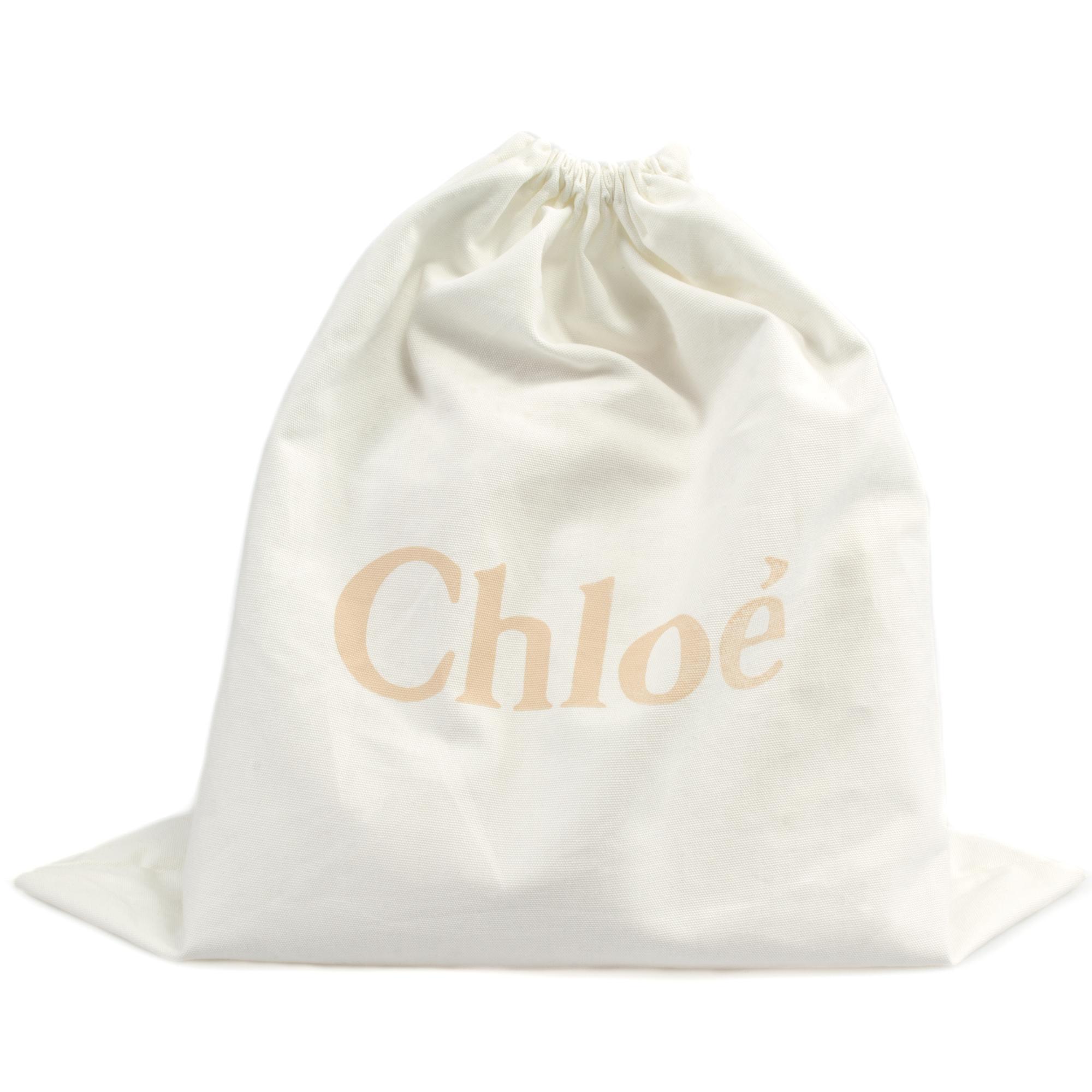 Chloe Drew Bag | Blå med gull Hardware | Liten
