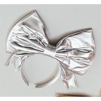 Bnov bue på pandebånd sølv