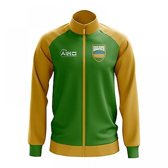 Karakalpakstanin käsite jalkapallo Track Jacket (vihreä)