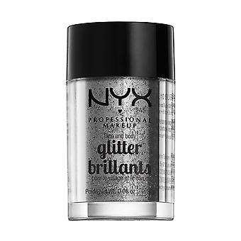 NYX PROF. MAKEUP Face & Body Glitter-10 Silver 2, 5g