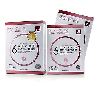Dr. Jou (by Dr. Morita) Six Essence Hyaluronic Acid Whitening Mask - 7pcs