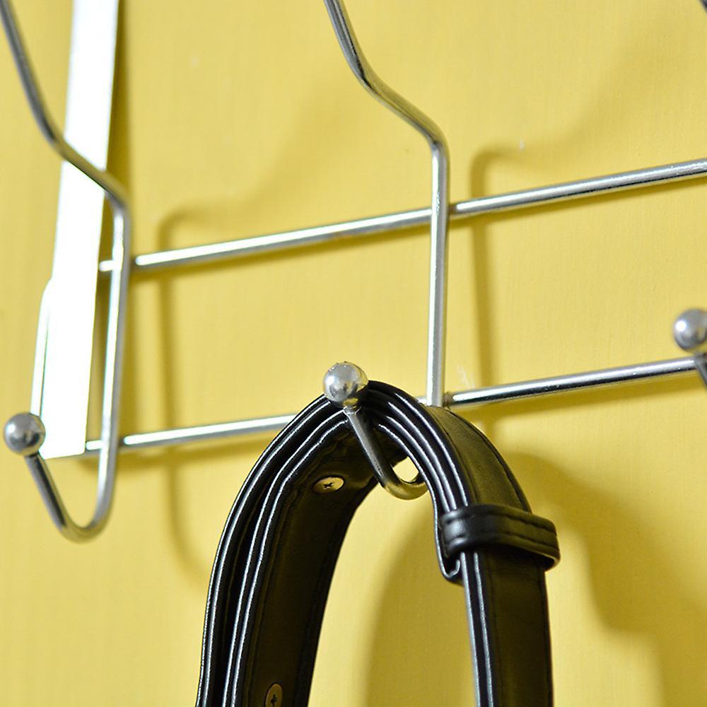 TRIXES Chrome Door 6 x 2 Hooks