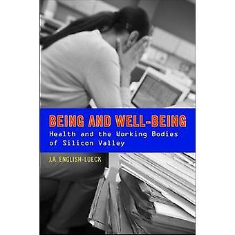 Sein und Wohlbefinden-Gesundheit und der Arbeit stellen des Silicon Valley