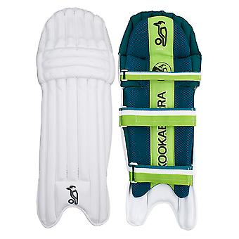 Kookaburra 2019 Kahuna 4.0 Cricket battuta pastiglie gamba guardie bianco/verde