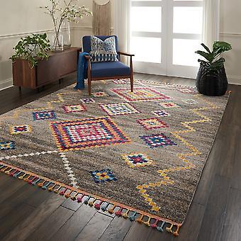 Nomad dywany Nmd05 przez Nourison w kolorze szarym