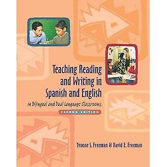 Undervisning lese og skrive i spansk og engelsk tospråklig og to klasserom