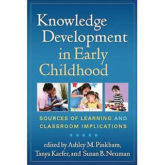 Kunskapsutveckling i tidig barndom