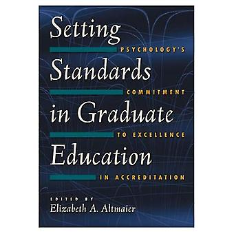 Fastställer standarder för forskarutbildning