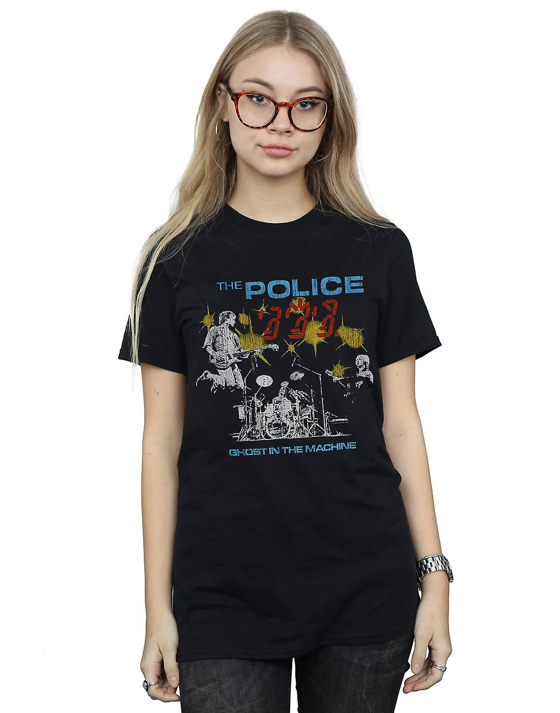 The Police Women's Ghost In The Machine Boyfriend Fit T-Shirt