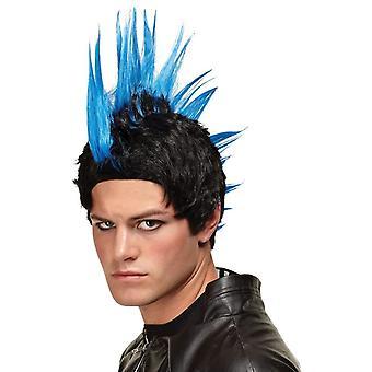 Blue Wig For Punk Rocker