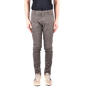 Dondup Ezbc051083 Men's Green Cotton Pants