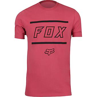 Fox Racing Mens Midway SS Airline T-Shirt - Rio Red