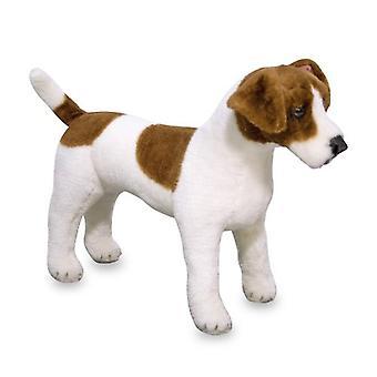 Melissa & Doug Giant Jack Russell Terrier Lifelike Dog (30 cm)