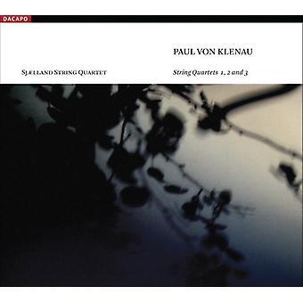 P. Von Klenau - Paul Von Klenau: String Quartets Nos. 1-3 [CD] USA import