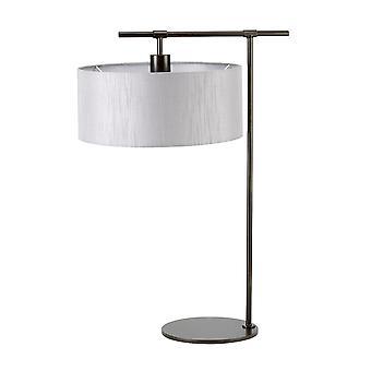 Elstead-1 könnyű asztali lámpa-sötétbarna-mérleg/TL DBG