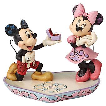 Mickey and Minnie Mouse 'A Magical Moment' Figurine
