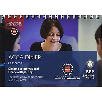 Diplôme DipIFR en rapports financiers internationaux-cartes de passage par DIP