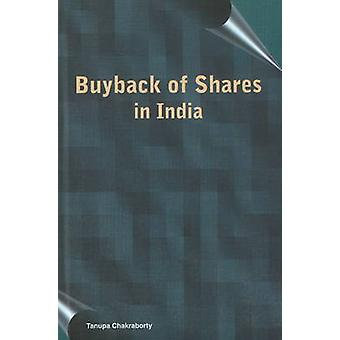 Buyback of Shares in India by Tanupa Chakraborty - 9788177081619 Book