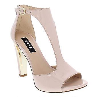 DKNY mujer Colby cuero ocasión especial T-Strap sandalias