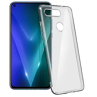 Honor View 20 Soft Silicone Gel Cover Ultra-thin Transparent Muvit